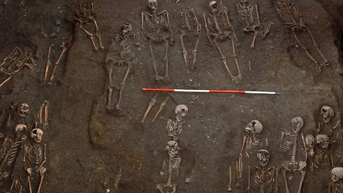 Large medieval burial ground under Cambridge is similar to modern cemeteries