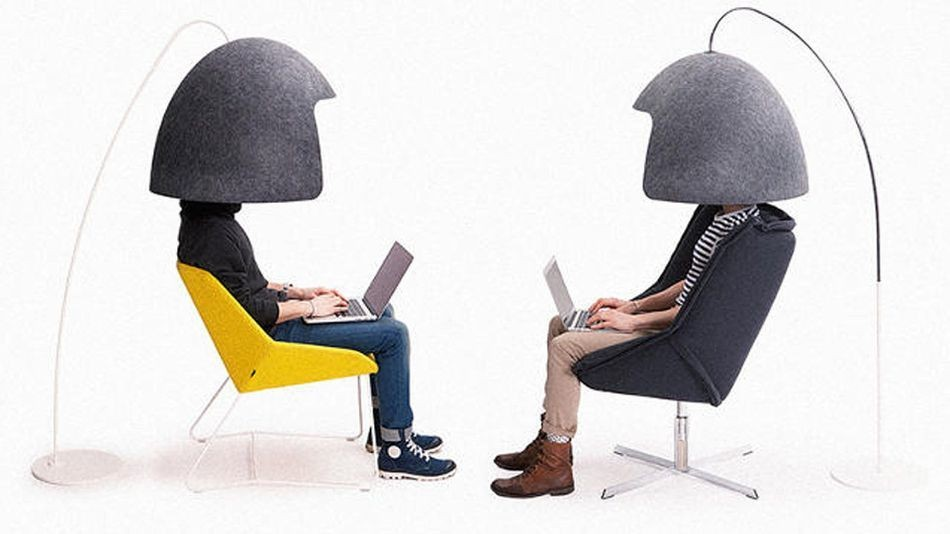 Noise-insulating helmet is about to top every introvert's wish list