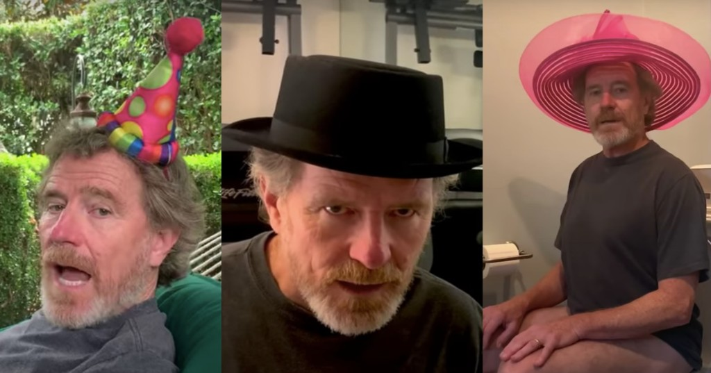 Allow Bryan Cranston to show you his hats in this mildly unhinged Jimmy Fallon song