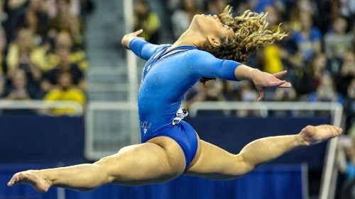 Katelyn Ohashi's final college gymnastics routine is a stunner