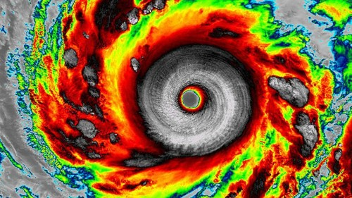 Most Powerful Storm of the Year Holds Onto Its Title as It Heads for Japan