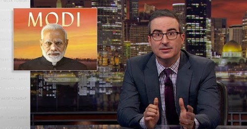 John Oliver's deep dive on India's prime minister is a real eye-opener