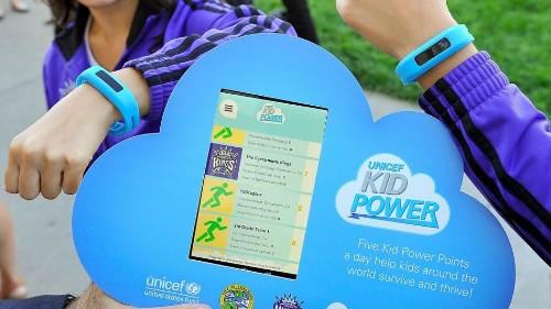 Wearables for good: UNICEF Kid Power promotes fitness and saving lives