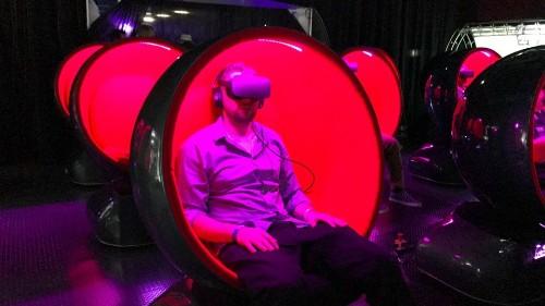 Finally, a VR chair that won't make you nauseous