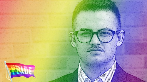 Ryan Karnoski is a trans man who sued Trump for the right to serve in the military