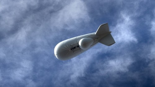 Oh great, the U.S. military launched giant balloons to spy on the Midwest