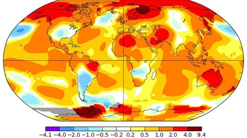 Earth's hot streak continues with warmest May since at least 1880