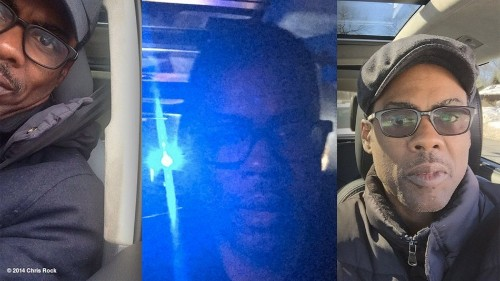 Chris Rock is posting selfies every time he gets pulled over by police