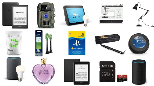 Amazon devices, Apple iPhones, Vera Wang fragrances, Playstation memberships, and more on sale for March 22 in the UK