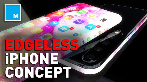 This edgeless concept iPhone is out of this world