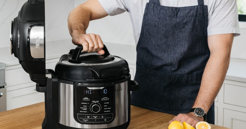 Save $100 on an 8-quart Ninja Foodi and cook for the whole family