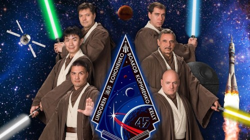 Next Space Station mission actually full of Jedi