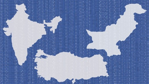 The countries where Facebook censors the most content