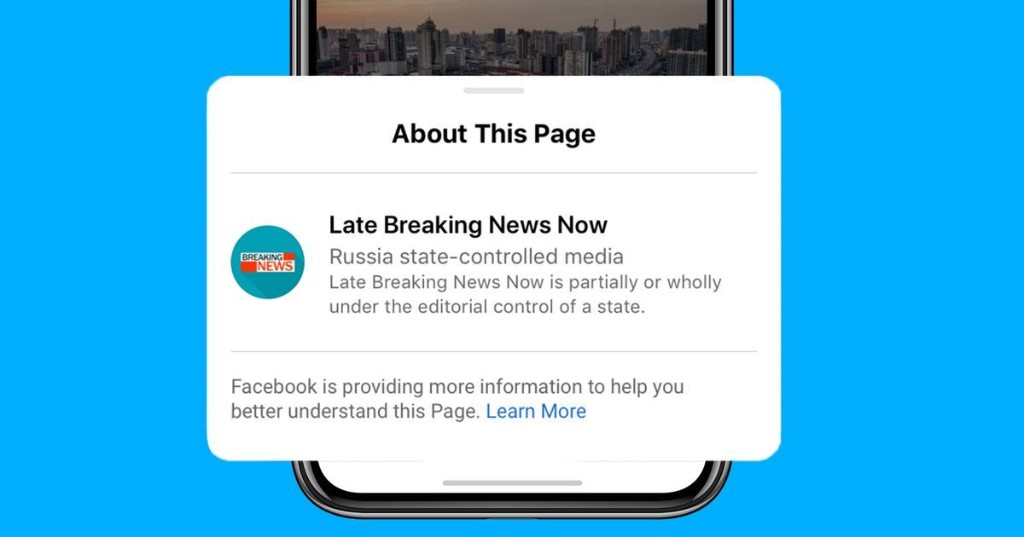 Eight months later, Facebook fulfills promise to label state-run media