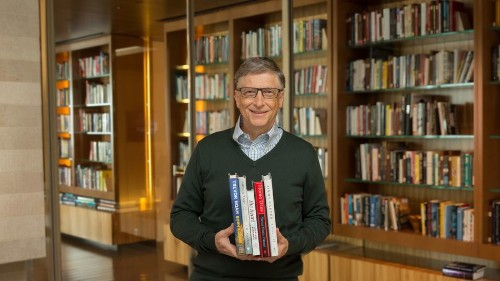 Bill Gates just revealed his summer reading list, and it's as awesome as you'd expect