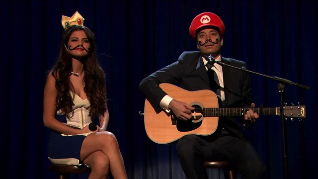 Selena Gomez, Jimmy Fallon Sing a Mario Kart Love Ballad