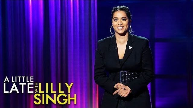 Lilly Singh let her whole late night show be taken over by girls