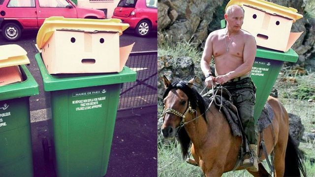 This bin that looks like Donald Trump has sparked a glorious Photoshop battle