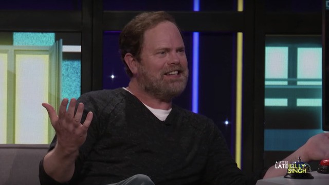 Rainn Wilson gets quizzed on 'The Office' superfan Billie Eilish and crushes it
