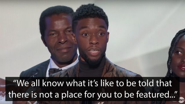 'Black Panther' star Chadwick Boseman delivers incredibly powerful speech after SAG win