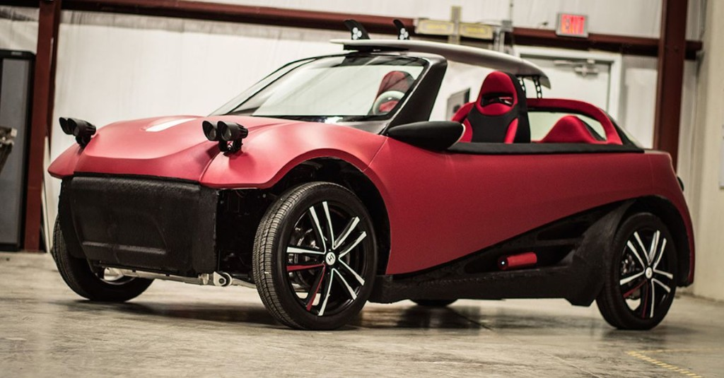 World's first 3D-printed car could cost you $53,000