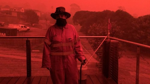 Thousands told to jump into the ocean as Australia's raging fires approached