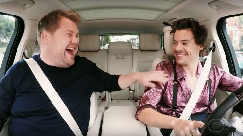 Harry Styles and James Corden's mini 'Carpool Karaoke' reunion is 4 minutes of pure joy