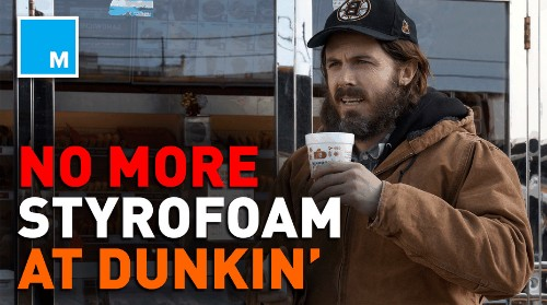 Dunkin' to end use of styrofoam cups for good