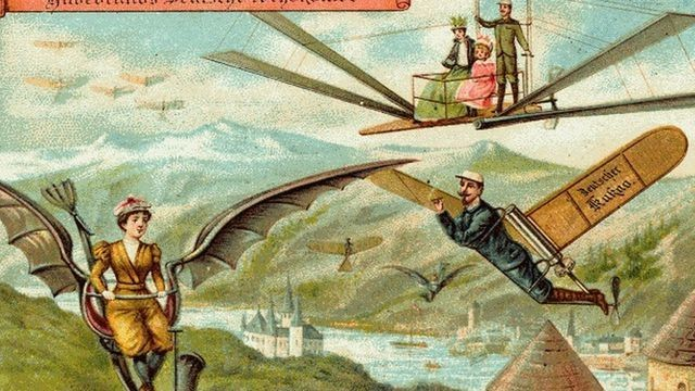 What people in 1900 thought life would be like in the technological paradise of 2000