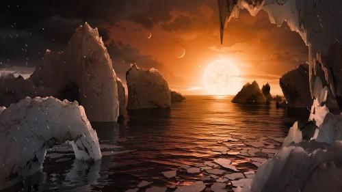 Seven Earth-sized planets orbit an alien star only 40 light-years away