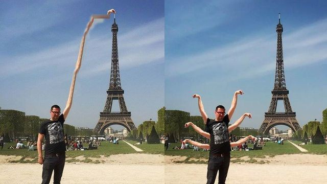 Don't ever ask the Internet to edit your vacation photos