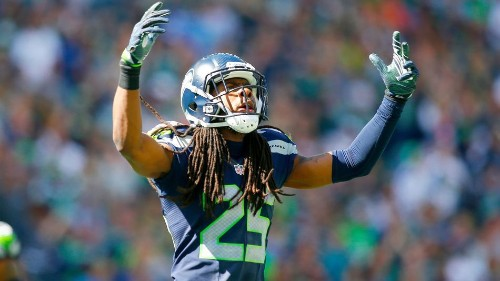 Richard Sherman just threw some serious shade at the NFL