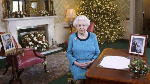 With the queen out sick for Christmas, everyone is wishing her well