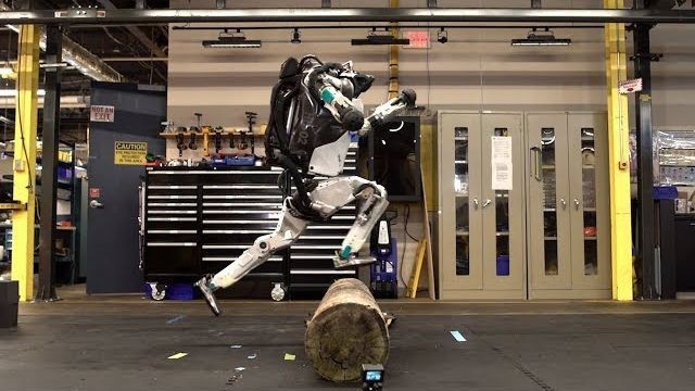 Even this futuristic Boston Dynamics robot can't make parkour cool