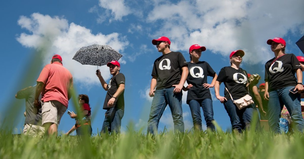 Facebook just banned one of its biggest QAnon groups