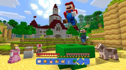 15 screenshots from Super Mario's debut in 'Minecraft'