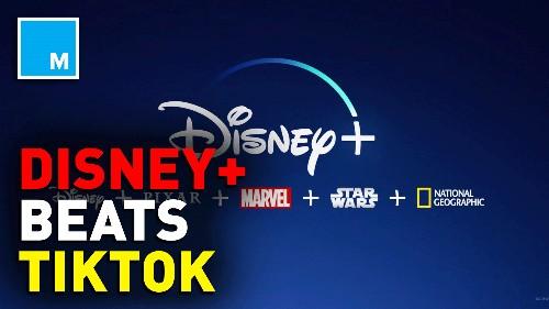 Move over TikTok: Disney+ is #1 in the App Store