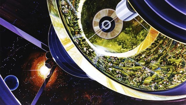 How we'll live in space, according to people in the 1970s