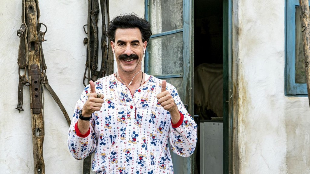 'Borat 2' Reviews Are In. Here's What Critics Think Of It.