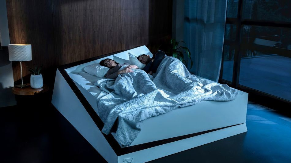 Ford's clever bed stops your sleeping partner hogging the whole thing