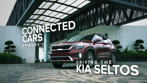 Driving the Kia Seltos - Connected Cars | Episode 1