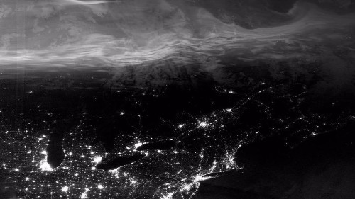 A satellite in space just saw ghostly auroras dance above Earth
