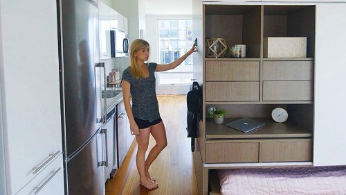 Automated furniture app transforms tiny apartments into mini mansions