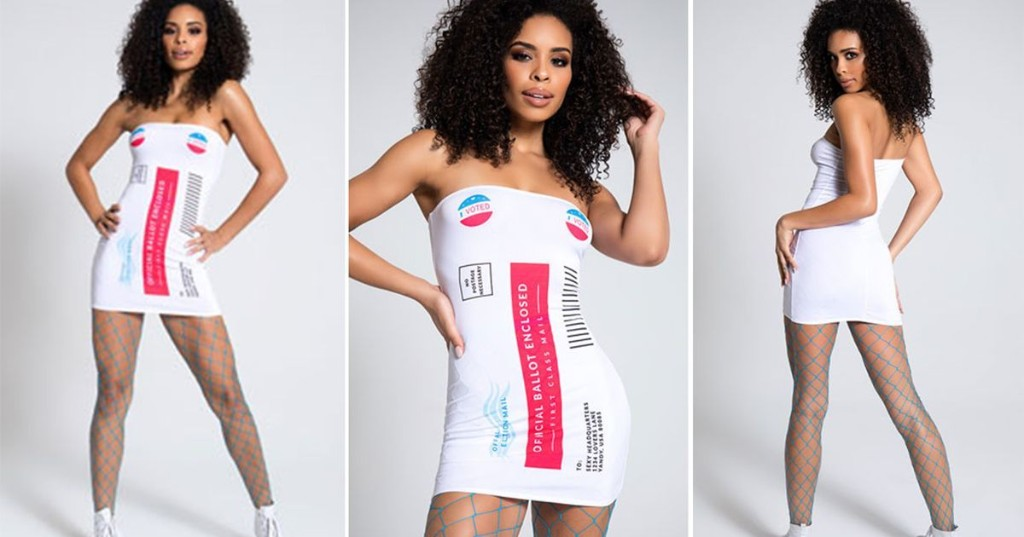 An ode to the sexy mail-in ballot and other weirdly hot Halloween costumes