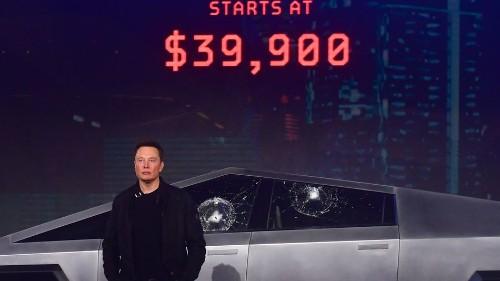 Tesla's Cybertruck window fail is funnier every time you watch it