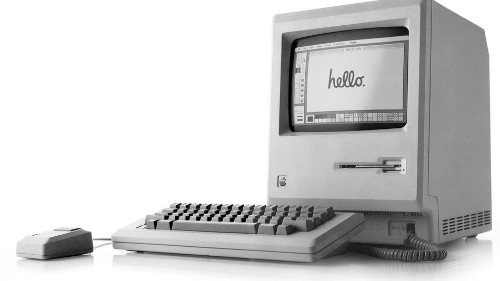 Happy 35th birthday, Macintosh! Here are 7 wild photos from the 1984 release.