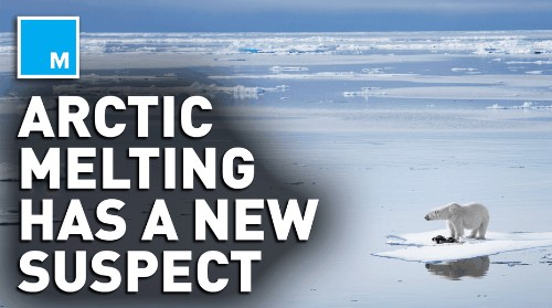 Extreme Arctic melting is caused by the same gases harming the ozone