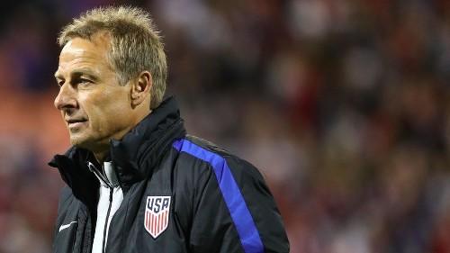 U.S. Soccer fires head coach Jurgen Klinsmann