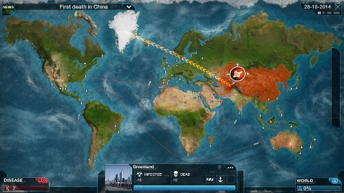 The coronavirus has sent a video game about wiping out humanity to #1