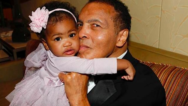 Laila Ali shares sweet photo of her dad with his granddaughter